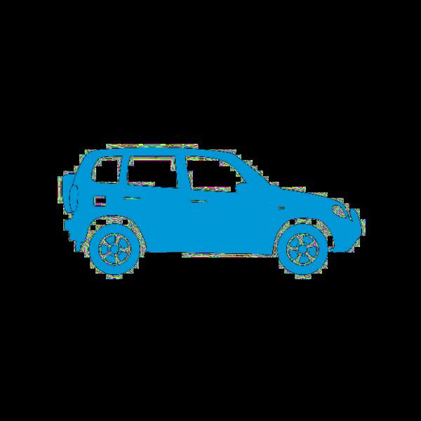 4x4 blue