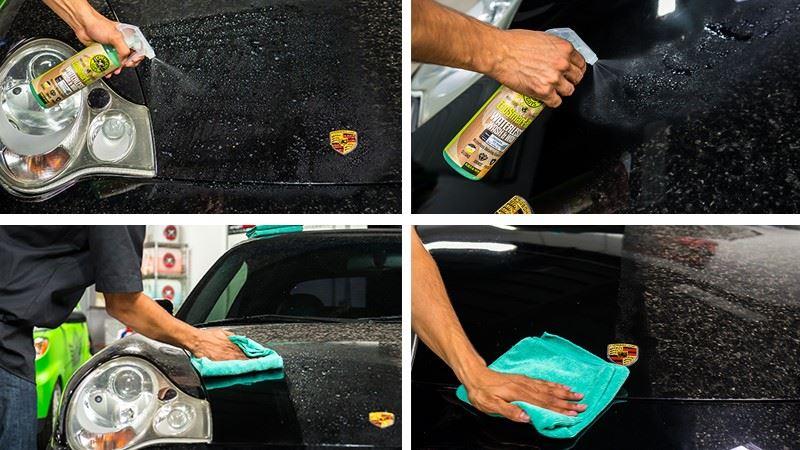 Qu'est-ce que le lavage auto sans eau